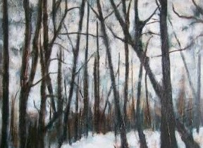 Winter Evening, Forest