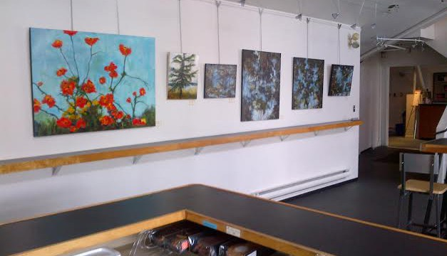 Solo show at the Waterfront Theatre Gallery